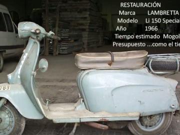 Restauración Lambretta Li150 Special (1966) - Primera parte
