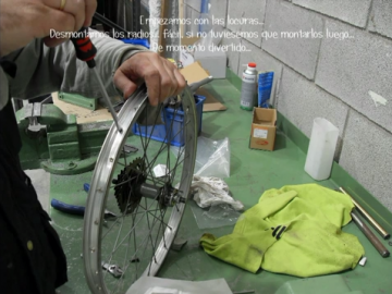 Restauración bicicleta niño