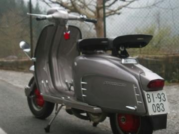 Restauración Lambretta Li150 Special (1966) - Quinta parte